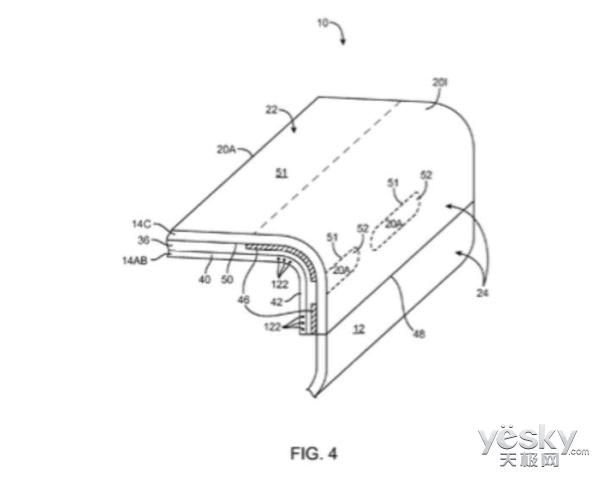 新专利:全玻璃iPhone 8侧屏或配备虚拟按钮-