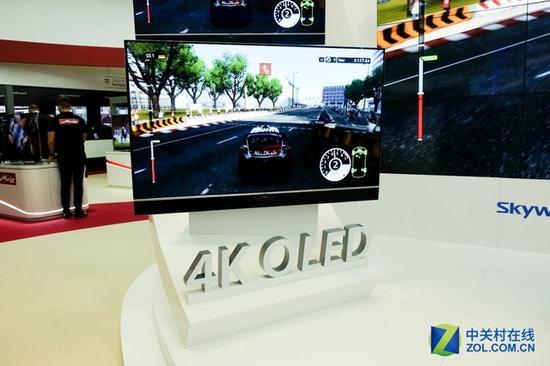 OLED产品与国际接轨 创维今年形式大好
