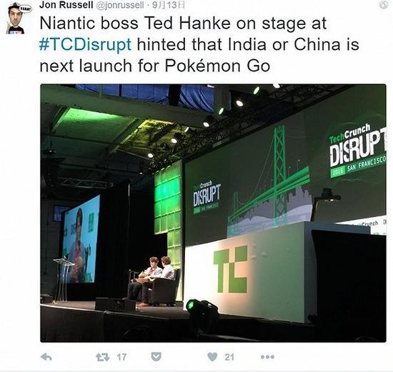 消息称《口袋妖怪GO》下一站将登陆中国