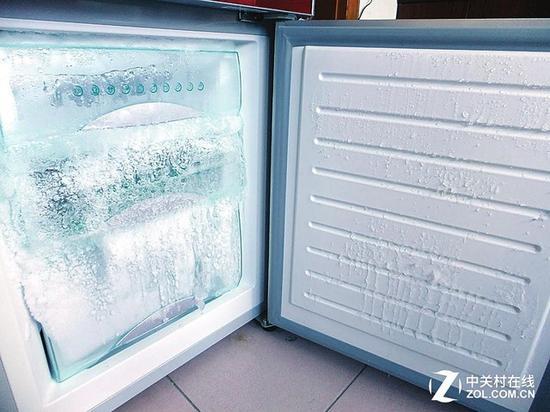 直冷冰箱手动除霜非常麻烦
