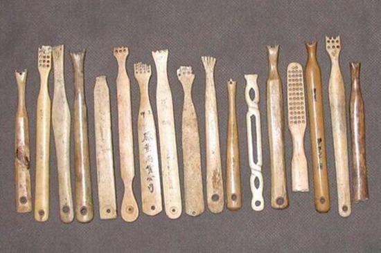 古代中国人用的的牙刷