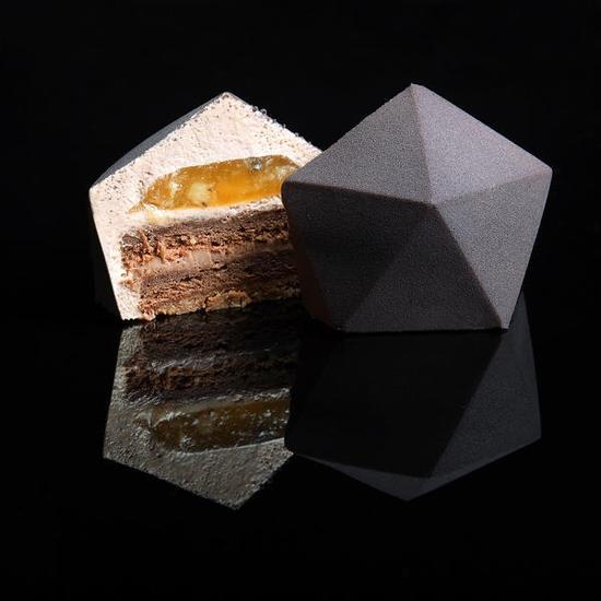 3D打印出来的甜点 漂亮到舍不得吃_pic1