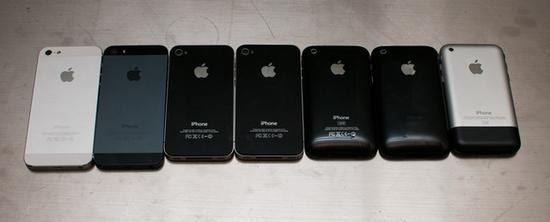 完美似水滴 历代iPhone的设计一体化野心