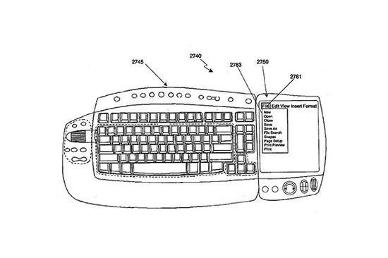 简笔画 键盘 手绘 线稿 550_366