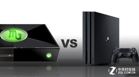 "XBOX""天蠍座"" VS PS4 PRO"