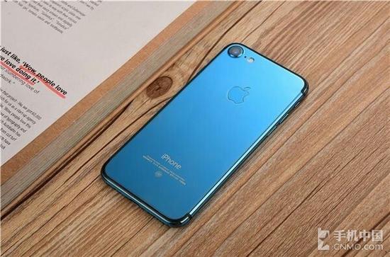 亮蓝色iPhone 7(图源网,下同)