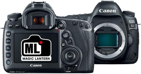 魔灯于11月份即开始了针对5D Mark IV相机的试验