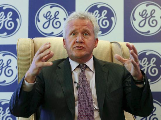 NO.18 通用电气CEO Jeff Immelt