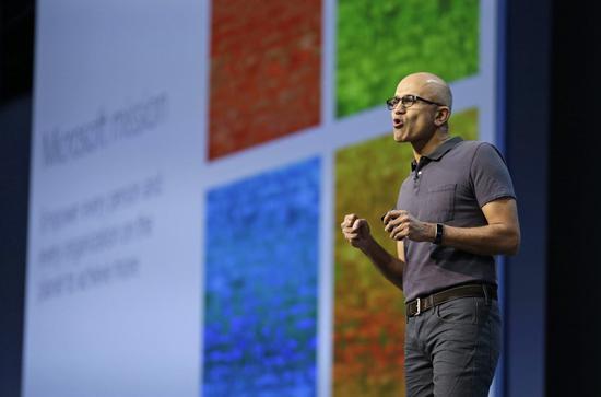 NO.7 微软CEO Satya Nadella