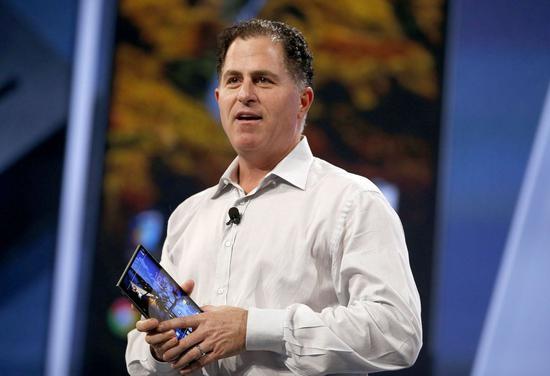 NO.3 戴尔公司创始人兼CEO Michael Dell
