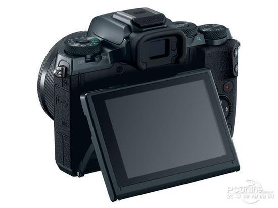 佳能EOS M5无反相机背面