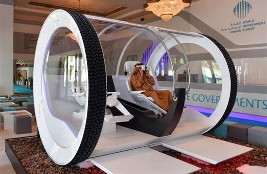 迪拜在世界政府峰会上展示的新型技术。 本文图均为 迪拜新闻办 图