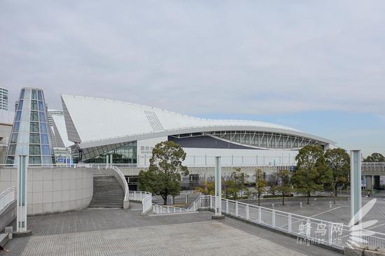 CP+展会的举办地:横滨国际会展中心