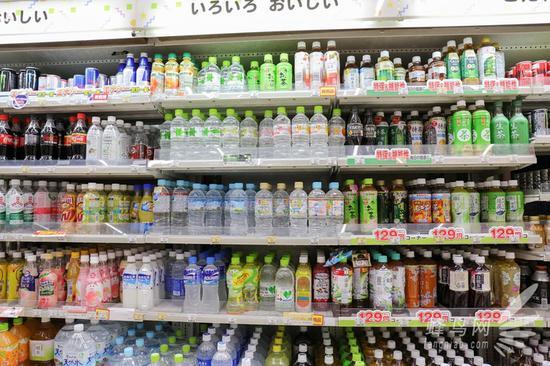 超多种类的饮料可供选择