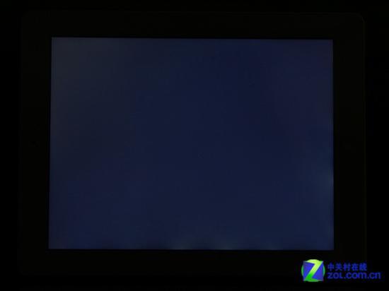 公认画质绝佳的iPad液晶产品漏光清晰可见