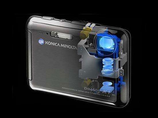 十年前 潜望式镜头的卡片相机就被研发出来了