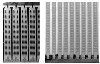 图2. 3DNAND多层堆叠结构TEM照片(图片来源:长江存储)