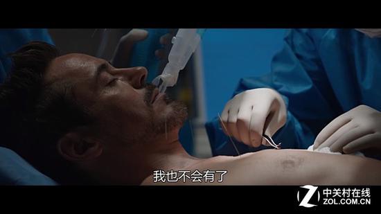 《钢铁侠3》电影场景