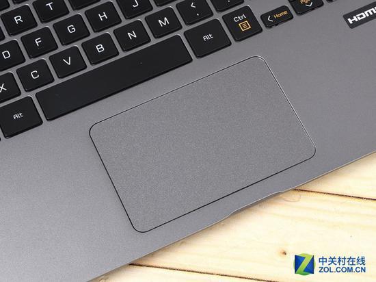 LGgram一体式触控板触感舒适