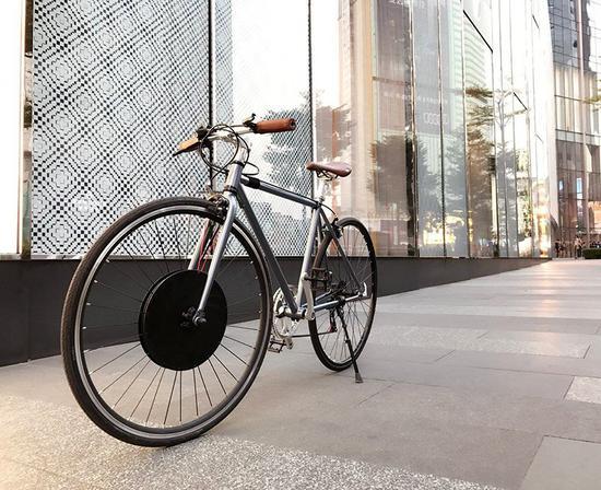 Urbanx 车轮不会影响车身的美观