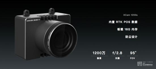 极飞自主研发的云台相机参数
