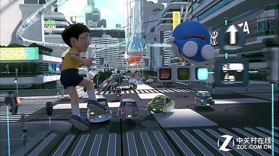 《哆啦A梦伴我同行》电影场景
