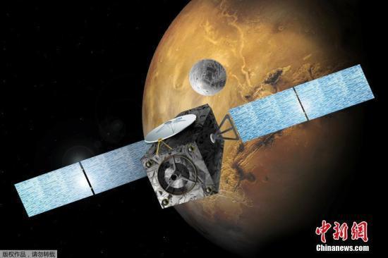 """资料图:2016年10月19日,欧洲空间局(ESA)和俄罗斯航天局联合研制的""""夏帕瑞丽(Schiaparelli)""""火星着陆器,历经7个月多的漫漫太空之旅,成功降落在火星""""子午线平原""""的表面。"""