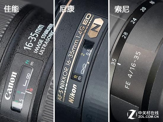 索尼FE16-35mmF4ZAOSS没有对焦窗,想要快速对到无穷远就比较困难了