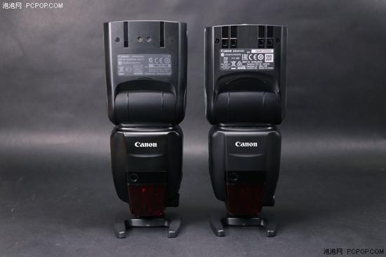 左边为前代600EX,右边为600EX II