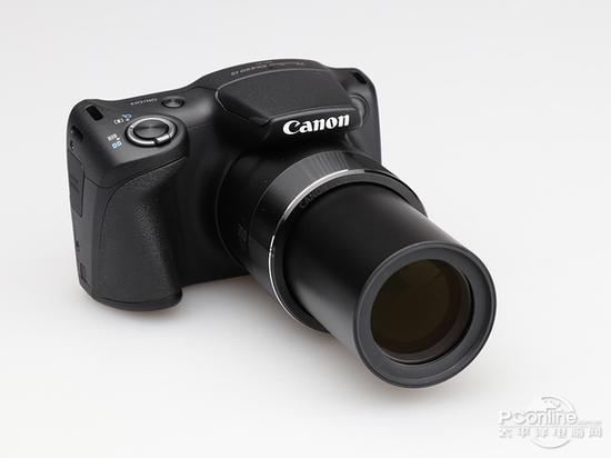 佳能Powershot SX430 IS最大的升级点在于镜头