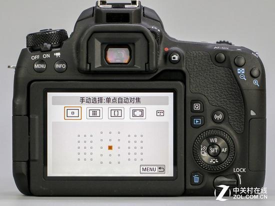 全新升级的45点对焦系统与全像素双核对焦系统加入,使得77D成为入门级对焦最强机