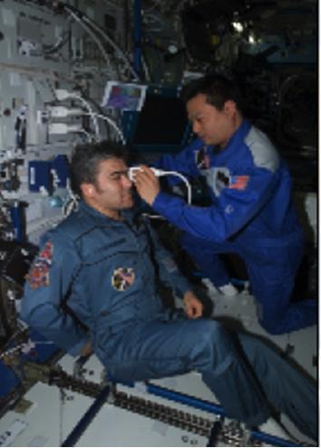 图9 国际空间站先进超声训练方法已应用于超声诊断技术