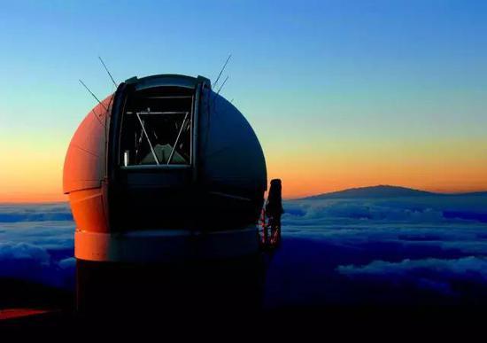 建于毛伊岛上的全天巡天望远镜及快速反应系统(Pan-STARRS)