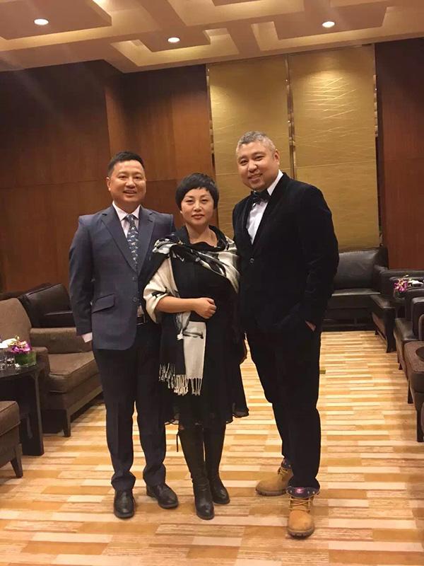 左起:周航、杨芸、汤鹏。