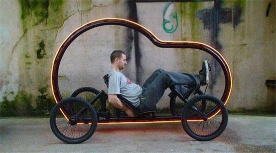 看着就想骑未来的自行车满满的科技感