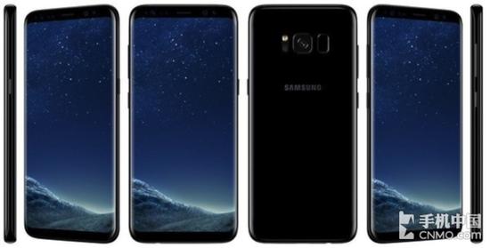 三星S8全视曲面屏手机