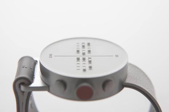 比杜蕾斯还性感的设计?智能盲人手表颜值超赞