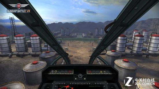 目前不少VR游戏都通过添加固定的参照物减少晕眩感
