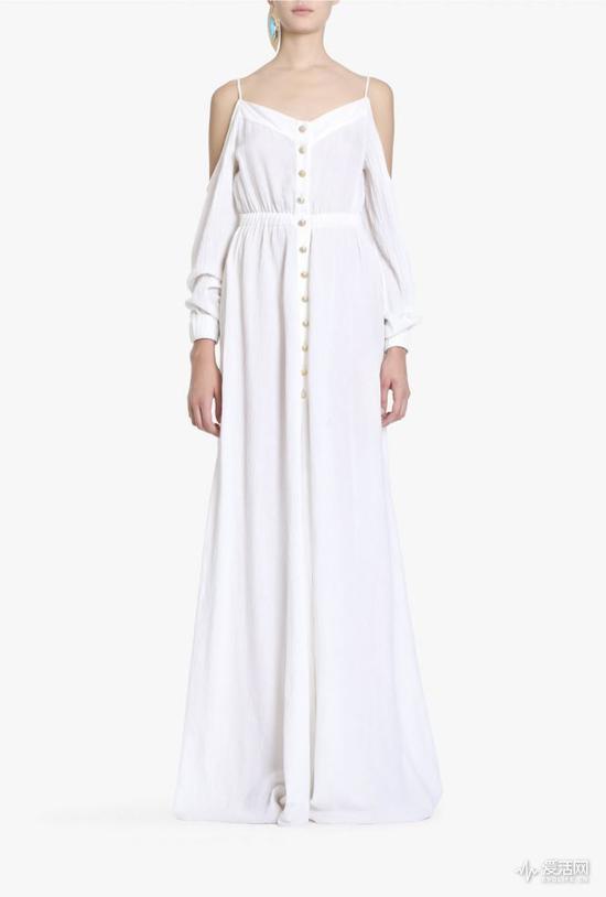 Balmain Seersucker cotton maxi dress €855