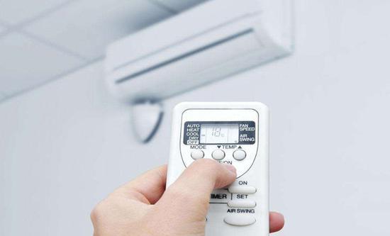 空调设定的温度不要太低
