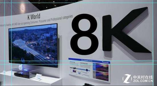 更高分辨率的电视产品必定是一大趋势