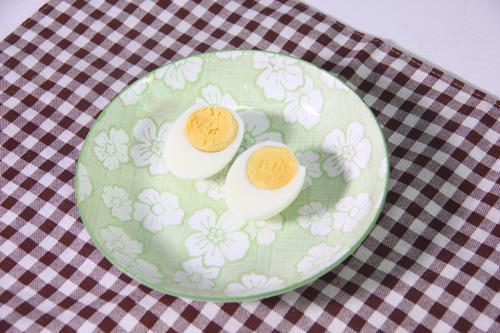 冷藏2小时后的蛋黄