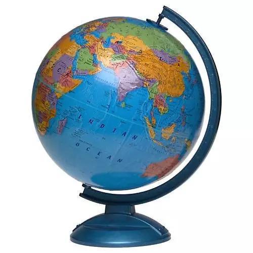 今天的地球仪。图片来源:Toys R Us