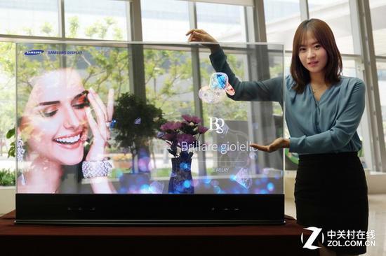 更多新型显示技术开始进入我们的视线