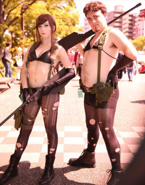 四月份在东京Unite活动上大玩Cosplay