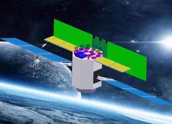 eXTP卫星运行示意图