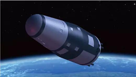 图2:实践十号卫星运行示意图