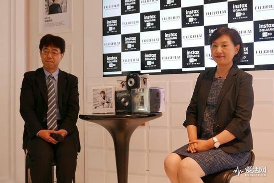 影像产品事业部事业部长松浦裕之先生、富士胶片(中国)投资有限公司副总裁徐瑞馥女士