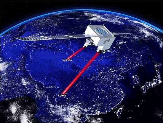 """中国量子科学实验卫星""""墨子号""""。 资料图片"""