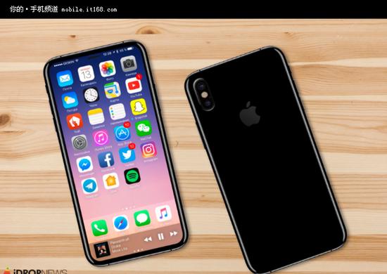 三星电子赚翻 卖谢晋恒通明星学校给iPhone 8的屏幕高达8千万片